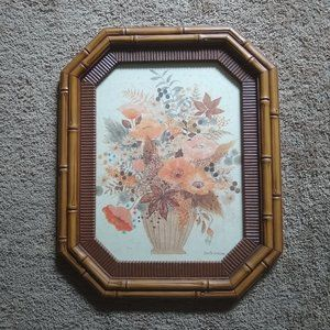 Gloria Eriksen Floral Watercolor Wall Hanging